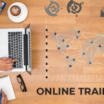 What are the benefits of online training for organizations
